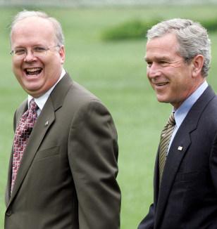 Image: Bush, Rove