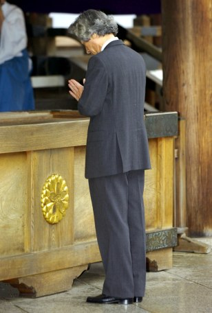 IMAGE: Japanese Prime Minister Junichiro Koizumi