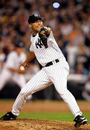 Yankees relief pitcher Mariano Rivera