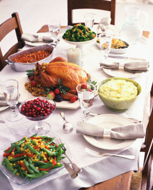 Image: Thanksgiving dinner