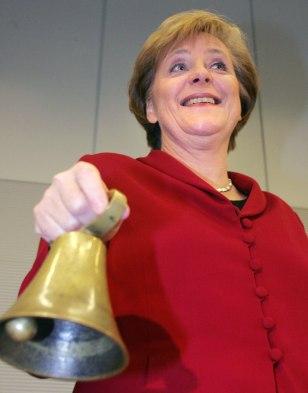 Designated German Chancellor Angela Merk