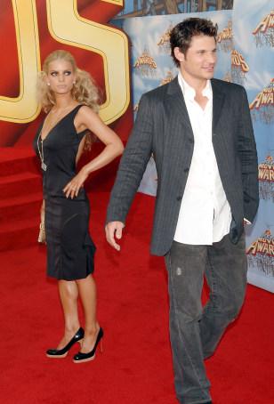 Image: Jessica Simpson and Nick Lachey.