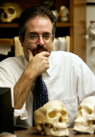Image: Tyler O'Brien, a biological anthropology professor at the University of Northern Iowa.