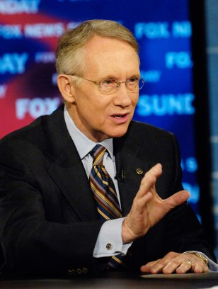 Image: Senate Minority Leader Harry Reid, D-Nev.
