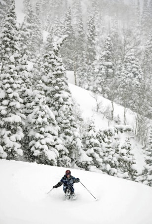 Heavy May Snows Blanket Utah's Mountain Regions