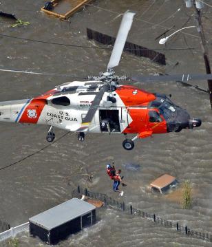 Image: Hurricane Katrina rescue