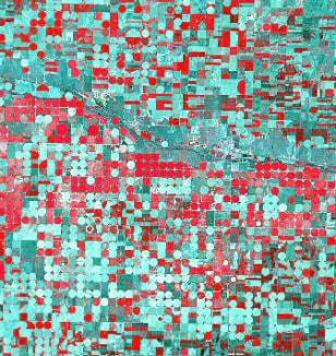 Image: Landsat 7 image