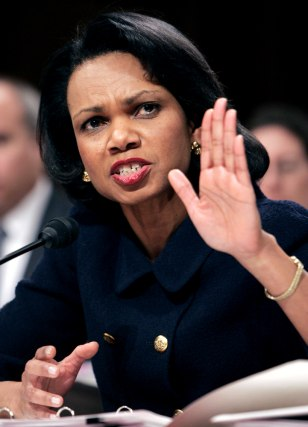 US Secretary of State Rice testifies before Senate Foreign Relations Committee