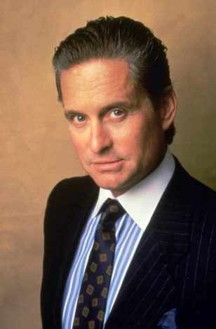 Image: Michael Douglas as Gordon Gekko