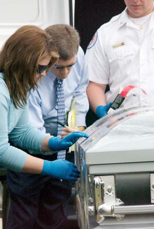 Image: Body exhumation