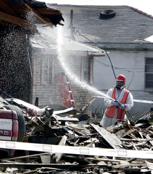 Image: New Orleans damage
