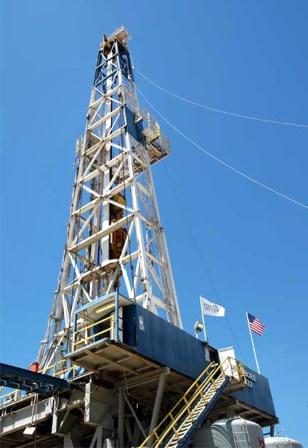 Image: SAFOD rig