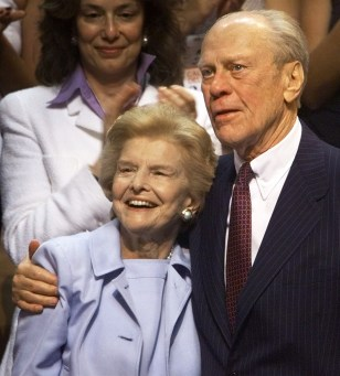 Image: Betty and Gerald Ford