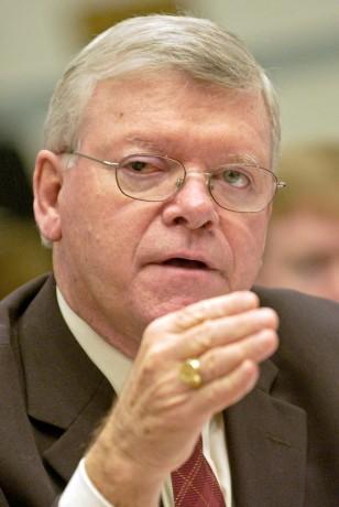 Image: former FDA Commissioner Lester Crawford