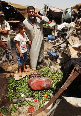Image: Violence in Baghdad