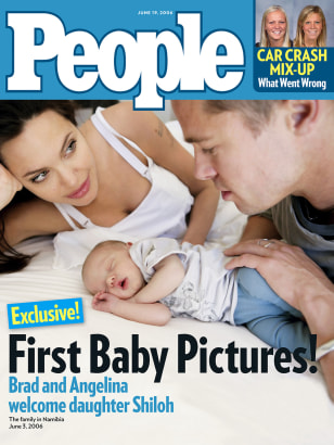 BABY ON PEOPLE MAGAZINE