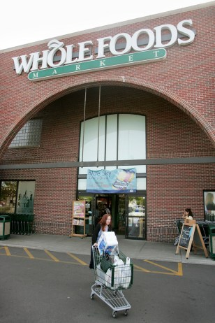 Image: Whole Foods store.
