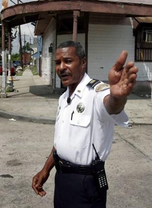 Image: New Orleans crime scene