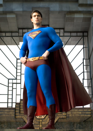 Image: Superman played by Brandon Routh