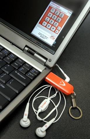 Image: Vonage USB Softphone