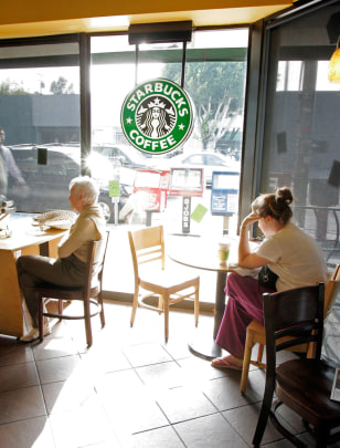 Image: Starbucks coffee shop