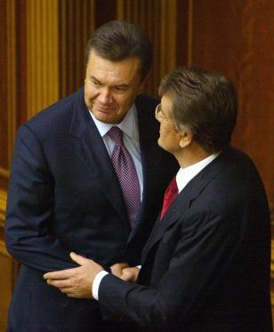 Image: Viktor Yushchenko, Viktor Yanukovych