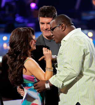 Paula Abdul, Simon Cowell, and Randy Jackson