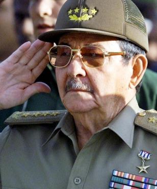 Image: Raul Castro.