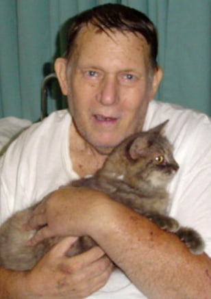 IMAGE: BILL HARRIS AND MISS KITTY