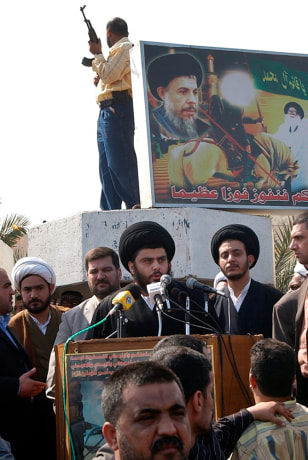 Image: Shiite cleric Muqtada al-Sadr