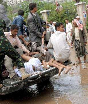 Image: Stampede victims