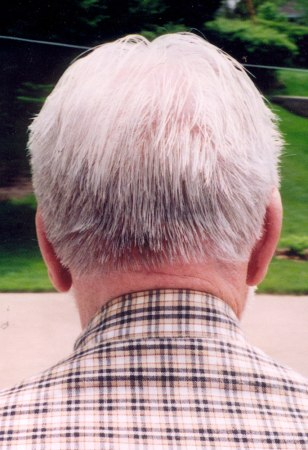Image: Back of James Schinneller's head