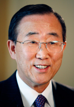 Image: South Korean Foreign Minister Ban Ki-Moon