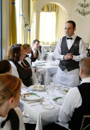 Image: Waiter at Commander's Palace
