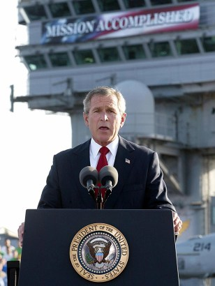 IMAGE: Bush speech