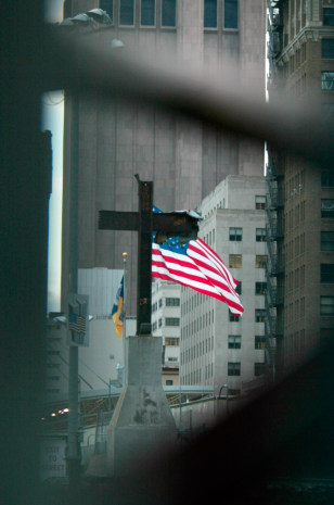 Image: Steel beam cross