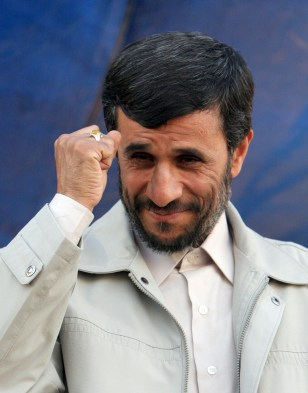 Image: Iranian President Mahmoud Ahmadinejad.