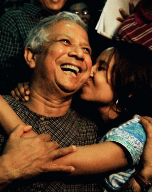 Bangladeshi Nobel Peace Prize winner Muh