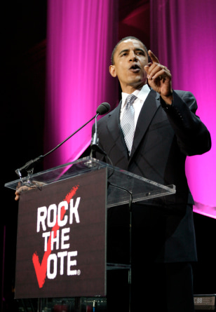 Image: Annual Rock The Vote Awards
