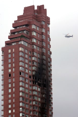IMAGE: Condo after plane crash