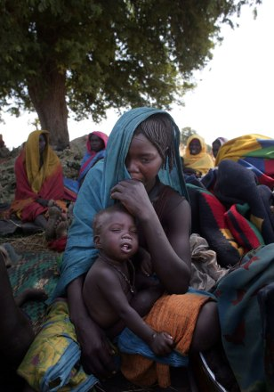Chadian Villagers Flee Area As Hundereds Killed