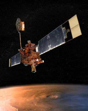 Image: Mars Global Surveyor
