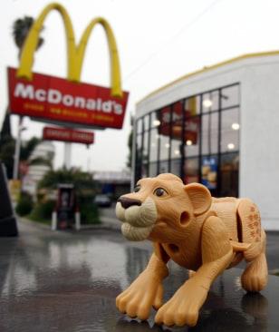 Image: McDonalds toys
