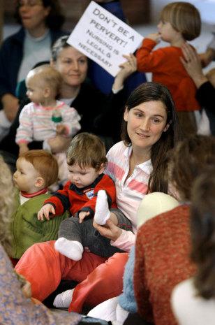 Image: Nursing moms