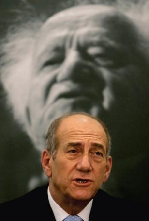 IMAGE: Ehud Olmert