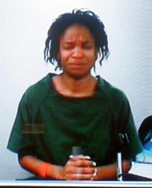 IMAGE: MOTHER ARRAIGNED IN CHILD'S DEATH