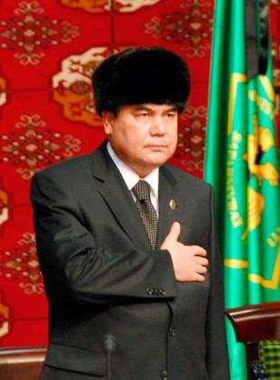 IMAGE:President Kurbanguly Berdymukhamedov