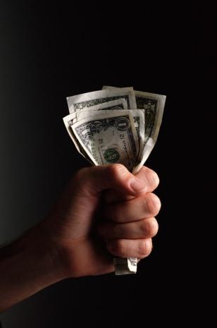 Image: Handfulof cash