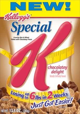 Kellogg Special K Chocolatey Delight Cereal