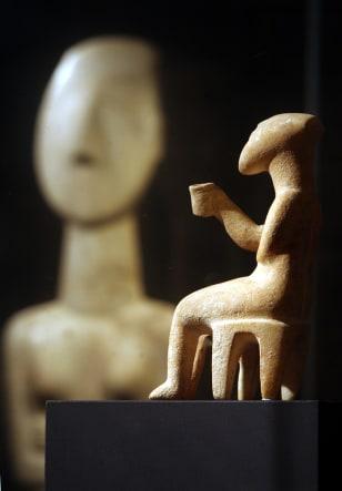 Image: Cycladic figurine